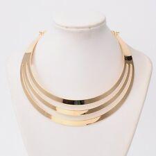Collier Halsreif Kleopatra Halskette Halsschmuck Gold Choker Barock Gothic Neu
