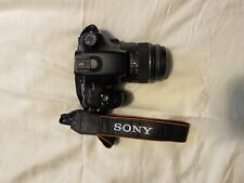 Sony Camera SLT A57 with bag, go pro and more. Great condition!