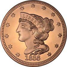 1 oz Copper Round - 1836 Large Cent