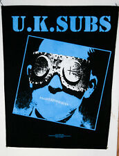 Rare Uk Subs Backpatch New (Nos)