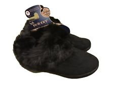 ISOTONER MICROSUEDE MALLORY BOOTS MEMORY FOAM SLIPPERS Women's Size MD(7.5)(8)