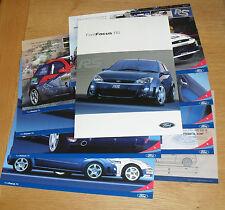 Ford Focus RS Mk1 Brochure Pack 2002 - WRC - Colin Mcrae