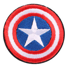 """Avengers Captain America Shield Embroidered Iron/Sew ON Patch Badge 2.7"""""""