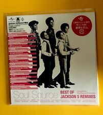 JACKSON 5  Soul Source Best Of Jackson 5 Remixes JAPAN MINI LP CD NEU UICZ-1328