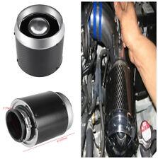 Real Carbon Fiber Car Hi-Flow Air Filter For Cold Air/Short Ram Intake M Size