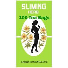 100 Slimming German Herb Sliming Tea Bags Natural Weight Loss Diet