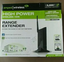 Amped Wireless High Power Wireless-N Smart Repeater and Range Extender SR150