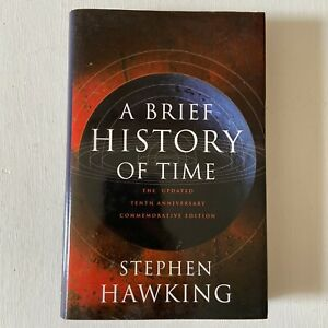 Stephen Hawking A Brief History of Time 10th Anniversary Edition Book