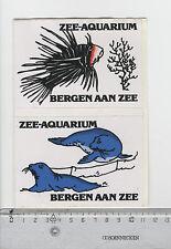 Decal/Sticker - Zee-Aquarium Bergen aan Zee