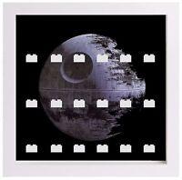 Display Case Frame for Lego Star Wars minifigures figures death star