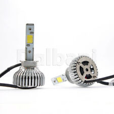 New LED Auto Headlight Bulbs Kit H1 Low High Beam Clear 4000LM 40W 6000K-24V