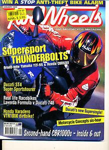 Two Wheels Magazine Jan 1999 R6 CBR600F Varadero ST4 Laverda Formula CB1000 #1