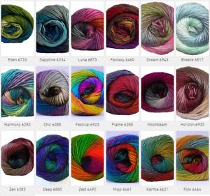 CYGNET BOHO SPIRIT Yarn Knitting Wool Crochet DK Aran - all shades