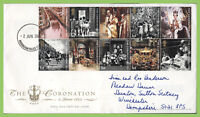 G.B. 2003 Coronation Anniversary Royal Mail First Day Cover, Buckingham Palace c