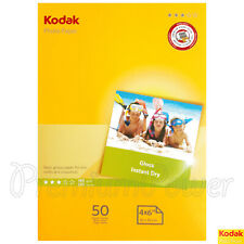 50 sheets x KODAK A6 Photo Paper Glossy 10 x 15mm 180gsm for inkjet printers