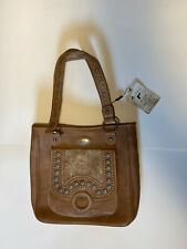 MONTANA WEST CONCEALED LEATHER CARRY PURSE BROWN WESTERN  BAG/HANDBAG NWT