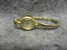 Vintage Timex Ladies Wrist Watch France Case w/ 302 Works Parts or Fix