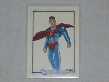 DC UNIVERSE SUPERMAN SKETCH CARD BY JIM KYLE