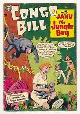 Congo Bill (1954 1st series) #3 VG-