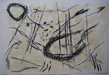 TAL COAT PIERRE LITHOGRAPHIE ORIGINAL 1954 DERRIÈRE LE MIROIR DLM 64 LITHOGRAPH
