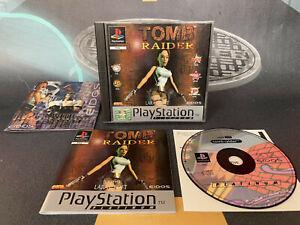 Tomb Raider (sony PLAYSTATION 1 Psx 1998) Full