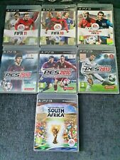 Fifa & PES Bundle Ps3 Games Job Lot Fifa 10,11,12,South Africa & PES 2010,2013++