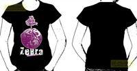 t-shirt  woman's ZEBRA rozmiar - M size - /koszulka damska