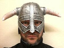 Viking casque Déguisement Accessoires Costume Guerrier nordique unisexe homme femme