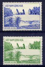 VIETNAM, SOUTH Sc#242-3 1964 Hatien Beach MNH
