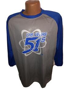 Las Vegas Minor League 51s Large Alien PROMOTIONAL Raglan Sleeve T Shirt Size XL