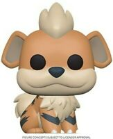 FUNKO POP! GAMES: Pokemon - Growlithe [New Toy] Vinyl Figure