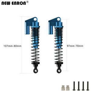 Dual Springs Damper Shock Absorber 108004 For RC 1/10 HSP AXIAL CC01 SCX10 90046