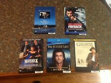 8 x 5.5 inch Backer cards. MINI POSTERS no dvd MEL GIBSON braveheart payback OOP