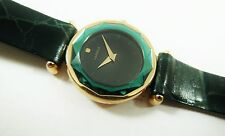 Lassale by Seiko Gold Tone Metal Green 1N00-3B20 Calf Sample Watch NON-WORKING