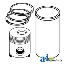 John Deere Parts PISTON LINER KIT RE23170 500 (4.270, SN <280000 6CYL ENG), 500A