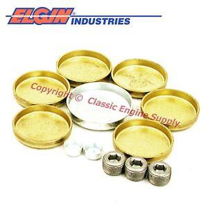 New Brass Freeze Plug Set Fits Cadillac 368 425 472 500 V8 Engines