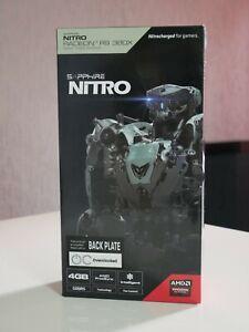 Carte Graphique SAPPHIRE NiTRO Radeon R9 380X 4Go GDDR5 avec backplate