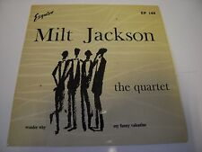 "MILT JACKSON QUARTET,WONDER WHY,MY FUNNY VALENTINE,ESQUIRE EP 144  7"" 45 rpm"