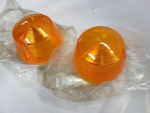 OEM Suzuki Turn Signal Lens ts250 AC AS T20 T3350 T250 TC305 t500 TS90 PAIR