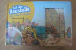 Auf der Baustelle, Buch + CD + Puzzle, Neu & OVP
