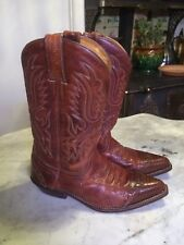 SANCHO SPAIN western cowboy cowgirl riding equestrian womens boots sz 40 ( 10?)