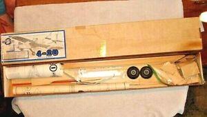 "ACE R/C 4-20 Model Airplane Kit Wingspan 48.5"""