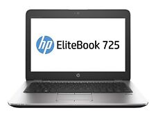 HP EliteBook 725 G3 Notebook AMD A8-8600B/A8X4, 16GB/2-DIMM 256Gb SSD Win10 pro