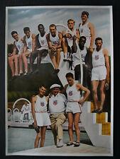Sammelbild Olympia 1936 Leichtathleten Vereinigte Staaten von Amerika - b6993