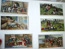 """Six Vintage German Advertising Cards by """"B.Sprengel & Co. for Chocolate (D) *"""