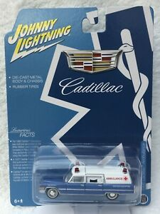 JOHNNY LIGHTNING - 1966 Cadillac Ambulance - NEW RELEASE - SPECIAL EDITION