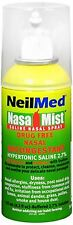 NeilMed Hypertonic NasaMist Saline Spray 4.20 oz (Pack of 2)