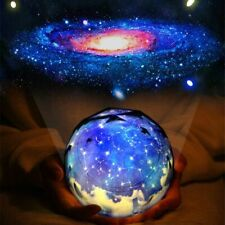 Starry Sky Night Light Projector Lamp Cosmos Led Kids Children Galaxy Bedroom