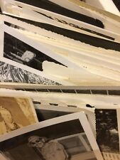 110 Old Photos Lot BW Vintage Photographs Snapshots Black White antique