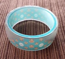 Paul Frank Julius Monkey Bangle Bracelet McDonalds Happy Meal Toy #4 2012 Rare!!